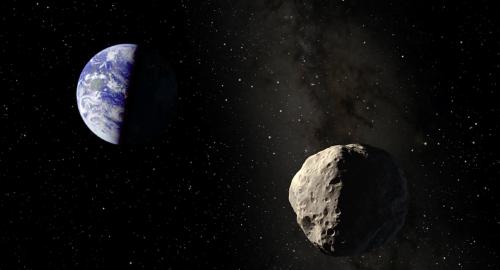 Asteroide sta per sfiorare la Terra